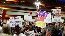 Phoenix became yet another American city hit by political turmoil