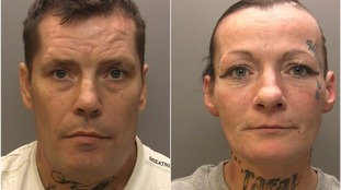 Watt (left) and Lofthouse were jailed following the violent robbery
