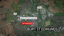 'Barely conscious' man found in Suffolk field