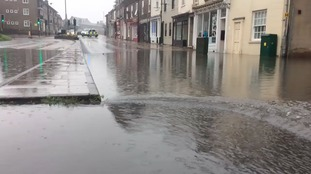 Flash floods cause chaos in York