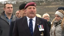 Falklands veteran returns to scene of conflict