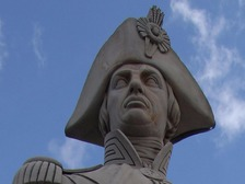 Lord Nelson, at the top of his column in Trafalgar Square.