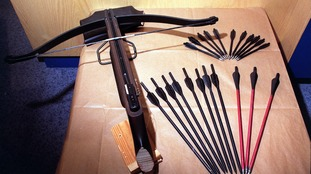 Police in Norwich are searching for a man with a crossbow - like this one.