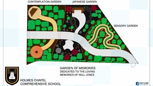 Garden of Memories, Holmes Chapel Comprehensive School