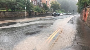 50 fire officers called to deal with flooding across Scarborough