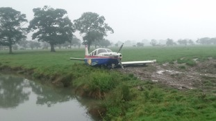 The plane crashed in Tockwith
