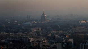 Paris is one the the area's to have adopted new air pollution rules for drivers.