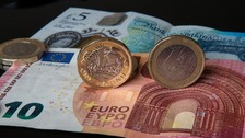Pound slumps to eight-year low against euro