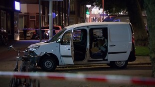 Driver of van from Spain held after 'terror threat' in Rotterdam