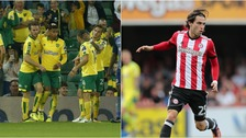 Norwich City will take on Brentford at Griffin Park.