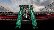 The league cup is sponsored by Carabao this year.