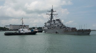USS McCain: Body found is not one of 10 missing sailors