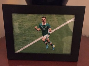 The Canaries fan requested a framed picture of Wes Hoolahan by his bed