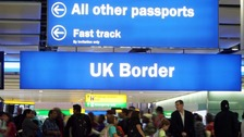 Net international migration to UK hits three-year low