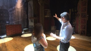 Go behind the scenes of new musical Crazy For You