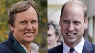 Wayne Lotter and the Duke of Cambridge.