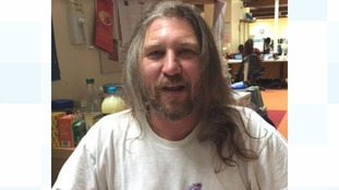 Sean Woolley before he got his haircut.