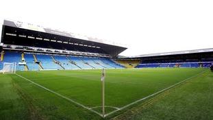 Leeds United's Elland Road stadium.