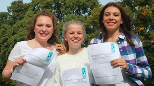 Under the reformed Maths GCSE marking scheme, 100 per cent of students achieved at least a Grade 4