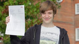Aaron is staying at KES Academy to study A levels