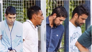 Sahl El Karib (second from right) was released without charge.
