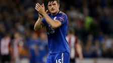 Harry Maguire signed for Leicester City from Hull City in June.