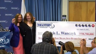 $758.7m ticket holder is biggest ever US lottery winner