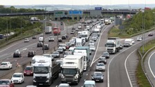 Five million motorists will be on the roads this weekend