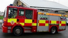 Essex Fire and Rescue Service are dealing with a chemical spill after a lorry crash in Rayleigh.