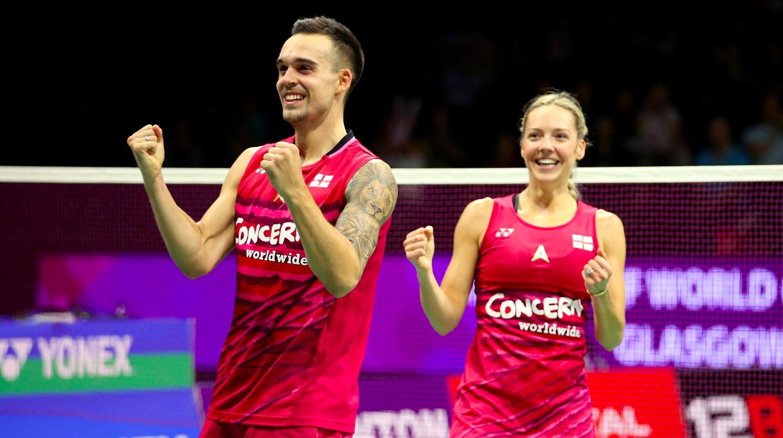 Chris and Gabby Adcock battle through to World Badminton semi