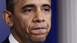 The fiscal cliff looms large on the horizon for Barack Obama