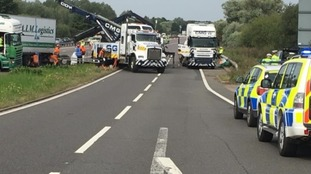 An AIM Logistics lorry