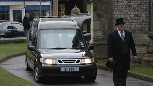 Hundreds of mourners at Cromer shootings funeral