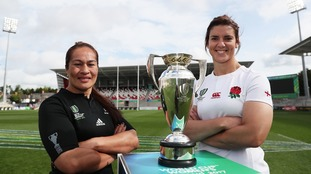 Watch the Women's Rugby World Cup Final on ITV - England v New Zealand