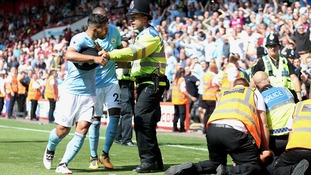 Assault allegation against Aguero withdrawn by Bournemouth steward