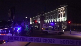Second man arrested over Buckingham Palace 'terror incident'