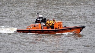 Lifeboats were launched.