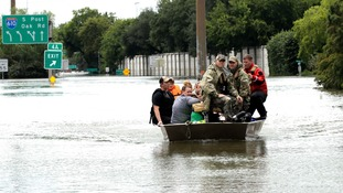 Thousands of people issued calls for rescue.