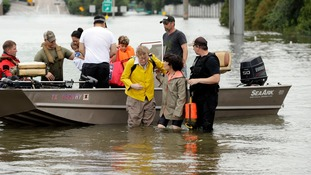 The so-called 'Cajun Army' has responded to pleas for help.