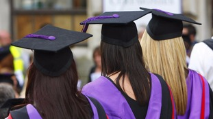 Number of women heading to university outstripping men as gap widens