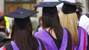 More women are going to university than men in the UK.