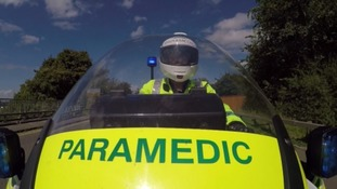 The motorbike medics on a life-saving mission