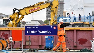 Waterloo: Delays and disruption as station reopens after month of engineering work