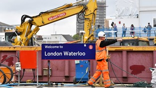 Waterloo station is to reopen fully after four weeks of engineering work.