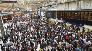 Travelers using the South West Trains line faced a month of chaos.