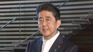 Japan's prime minister Shinzo Abe said the country would protect itself.