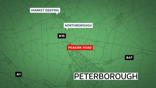 A 24-year-old man has been killed in a car crash in Northborough near Peterborough on Bank Holiday Monday.