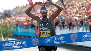 Mo Farah to go for fourth Great North Run win in a row