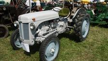 A similar vintage Ferguson TE20 tractor.