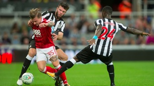 Hanley last played for Newcastle in their EFL Cup defeat at home to Nottingham Forest earlier this month.